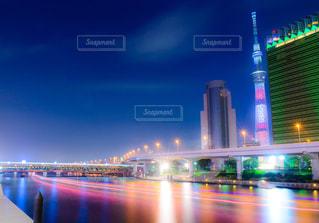 浅草の夜景の写真・画像素材[2361496]
