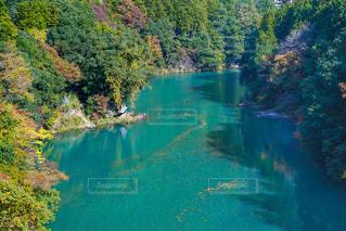 奥多摩白丸湖の写真・画像素材[2386192]