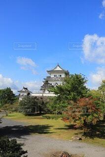 伊賀市の上野城の写真・画像素材[3708228]