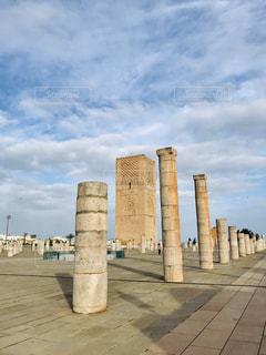 ハッサンの塔の写真・画像素材[2127130]