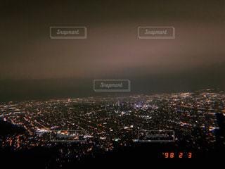 藻岩山からの夜景の写真・画像素材[2125175]
