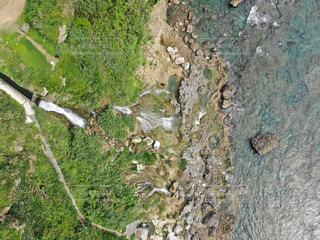 ギーザバンタの滝の写真・画像素材[2144178]