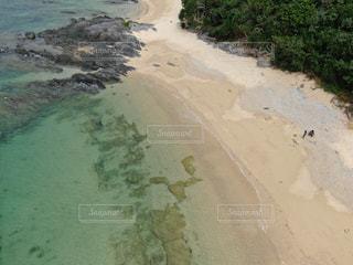 砂浜のクローズアップの写真・画像素材[2286011]