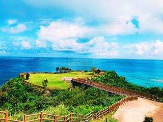 海の見える丘の写真・画像素材[2125329]