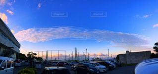 大きな雲の写真・画像素材[2125353]
