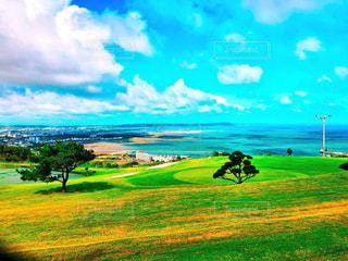 海の見える丘の写真・画像素材[2125354]
