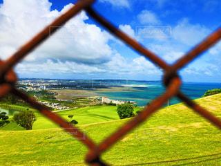 海の見える丘の写真・画像素材[2126498]