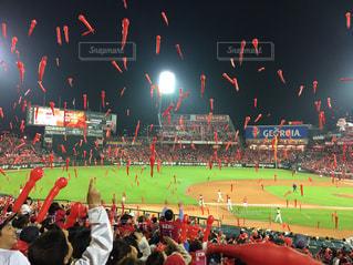 野球観戦の写真・画像素材[2138243]