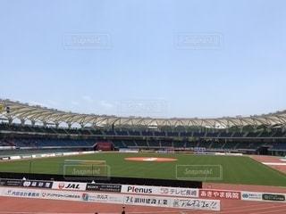 大きなスタジアムの写真・画像素材[2126985]