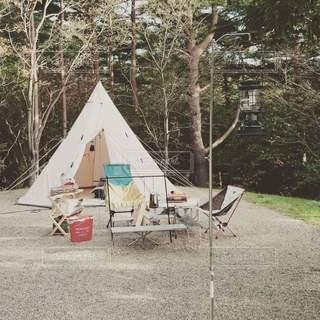 キャンプの写真・画像素材[2127830]