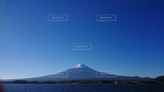 富士山と河口湖の写真・画像素材[2155914]