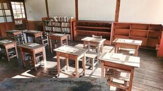 古い教室の写真・画像素材[2672130]