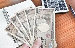 現金五万円の写真・画像素材[2754355]