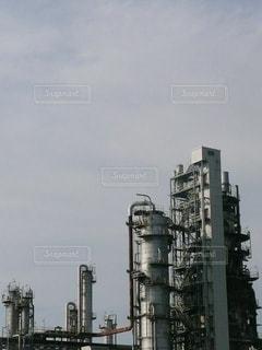 仙台港の石油コンビナートの写真・画像素材[2864381]
