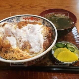 カツ丼の写真・画像素材[82642]