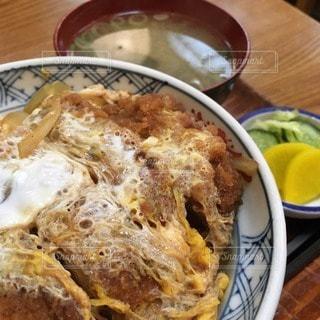 カツ丼の写真・画像素材[82711]