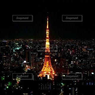 ホテルからの夜景の写真・画像素材[2133005]