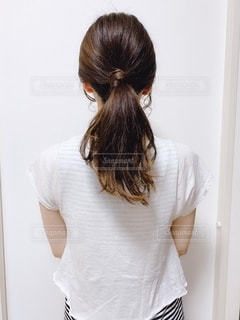後ろ姿の写真・画像素材[2155980]