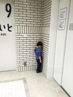 すねている男の子 1の写真・画像素材[2360114]