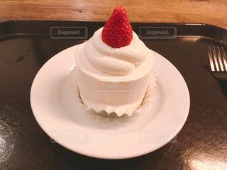 PARIYAのキャンドルショートケーキ。の写真・画像素材[2128383]