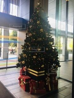 大きなクリスマスツリーの写真・画像素材[3991586]