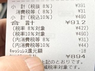 消費税の写真・画像素材[2600378]