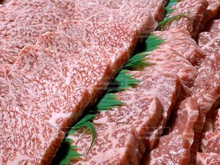 霜降り牛肉の写真・画像素材[2841402]