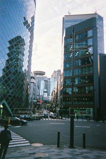 フィルムカメラで撮った赤坂の写真・画像素材[2133320]