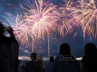 花火大会の写真・画像素材[2140175]