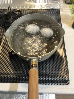 ゆで卵の写真・画像素材[2177759]