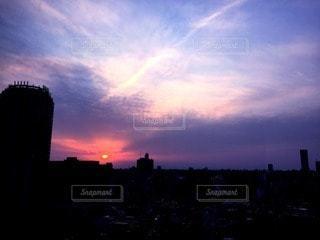 夕日の写真・画像素材[82684]