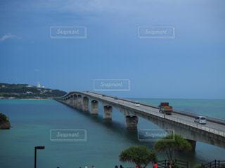 古宇利大橋ドライブの写真・画像素材[2184232]