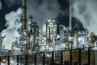 工場夜景の写真・画像素材[2137422]