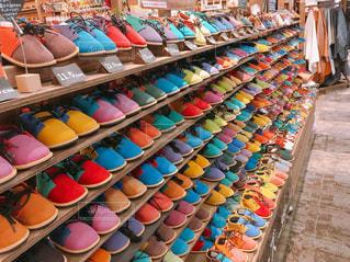 赤ちゃんお靴の写真・画像素材[2136378]