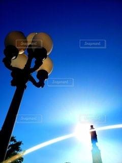 ディズニーで見た空の写真・画像素材[2217663]