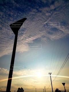 止まれない夕暮れの写真・画像素材[2320077]