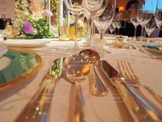 結婚式のカトラリーの写真・画像素材[2196143]