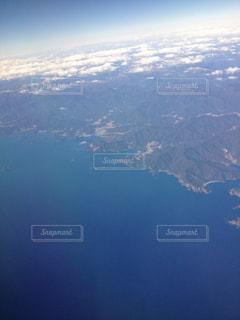 飛行機から見える景色の写真・画像素材[2139239]