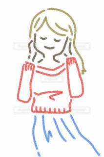ロングヘアの女の子の写真・画像素材[2412804]