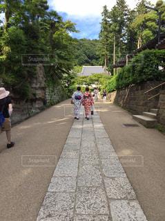 鎌倉を歩くの写真・画像素材[2139643]