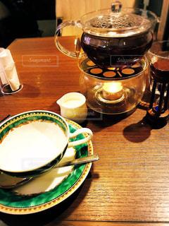 息抜きの紅茶の写真・画像素材[2141768]