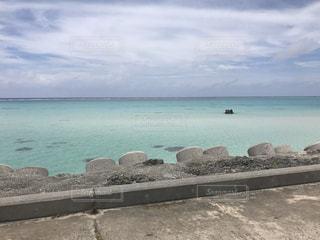 南の島の海の写真・画像素材[2144008]