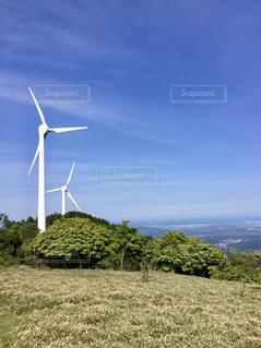 風車の丘の写真・画像素材[2152950]