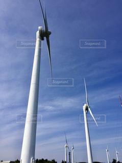 風車の写真・画像素材[2152951]