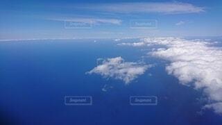 飛行機からの景色の写真・画像素材[3668384]
