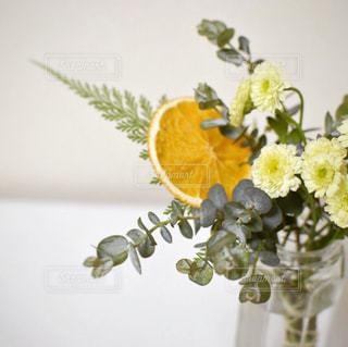 花とオレンジの写真・画像素材[2147325]