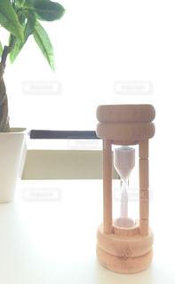 砂時計の写真・画像素材[2411750]