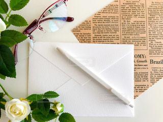 手紙の写真・画像素材[2411943]