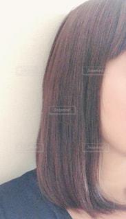 ストレートヘアの写真・画像素材[2589534]