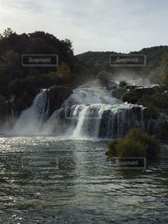 クロアチアの国立公園の写真・画像素材[1002718]